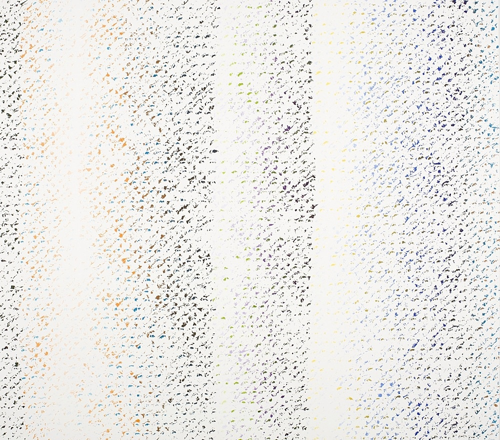"Cheyney Thompson – ""Chronochrome V"", 2009 oil on canvas 140 x 158 cm"