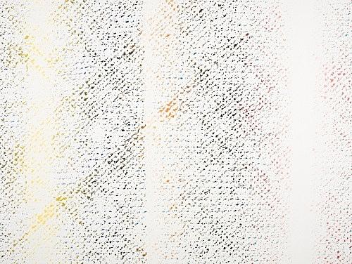 """Cheyney Thompson – """"Chronochrome VIII"""", 2009 oil on canvas 140 x 183 cm"""