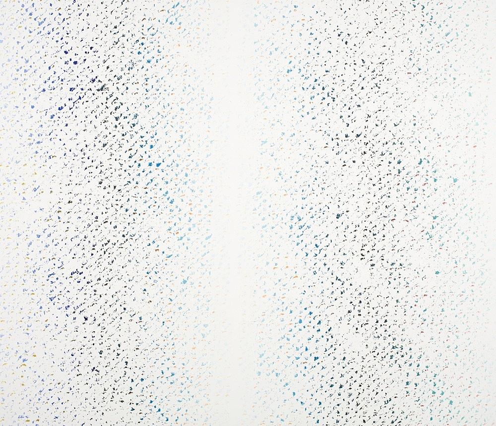 """Cheyney Thompson – """"Chronochrome XIII"""", 2009 oil on canvas 140 x 163 cm"""