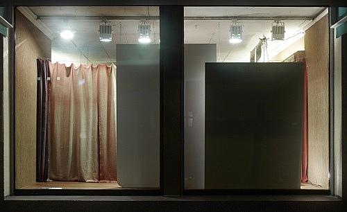 "Danh Vo – ""Boys seen through a shop window"" installation view Antiquariat Buchholz, Köln 2009"