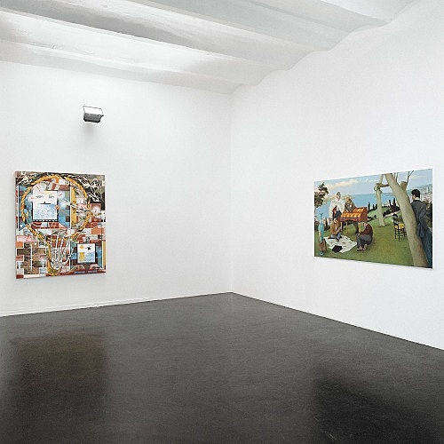 "– ""I and My Chimney"" installation view Galerie Daniel Buchholz, Köln 2003"