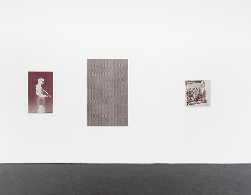 "R.H. Quaytman – ""Cherchez Holopherne, Chapter 21"" installation view Galerie Buchholz, Köln 2011"