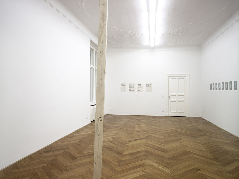 "Henrik Olesen – ""How do I make myself a body?"" installation view Galerie Daniel Buchholz, Berlin 2008"