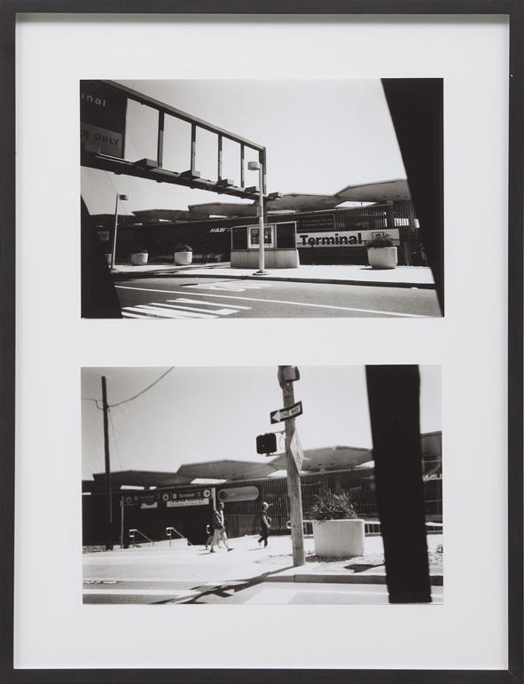 Isa Genzken – Untitled, 2001 22 b/w-photographs in 11 frames each 20 x 30,5 cm each frame 57,5 x 44 cm detail