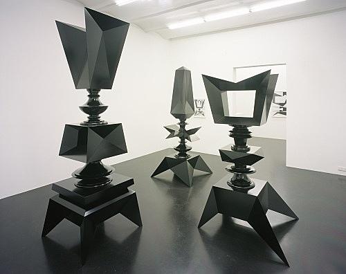 "Julian Göthe – ""Verrat"" installation view Galerie Daniel Buchholz, Köln 2007"