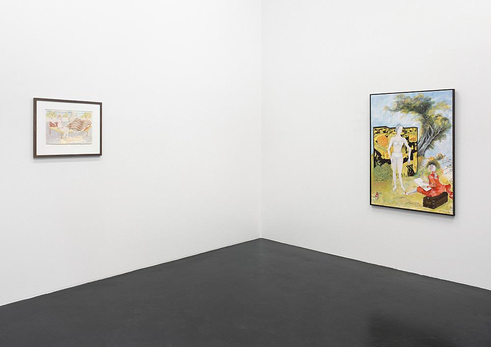 Katharina Wulff – installation view Galerie Daniel Buchholz, Köln 2005