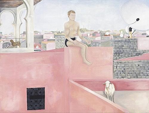 Katharina Wulff – Untitled, 2005 oil on canvas 120 x 160 cm