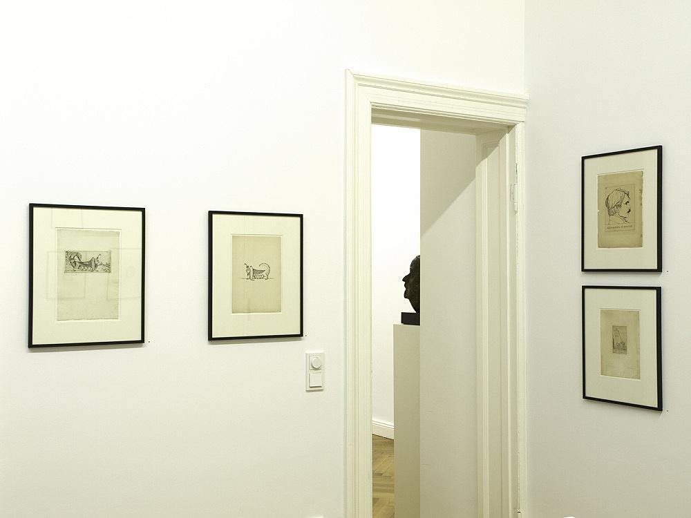 Marcus Behmer – installation view Galerie Daniel Buchholz, Berlin 2008