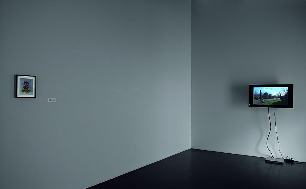 "Mark Leckey – ""This Thing In Regent's Park"", 2007 installation view Galerie Daniel Buchholz, Köln 2007"