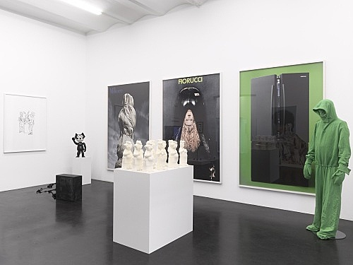 "Mark Leckey – ""Stills & Trailers"" installation view Galerie Buchholz, Köln 2012"