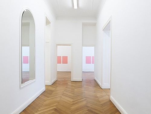 "Mathias Poledna – ""A Village by the Sea"" installation view Galerie Buchholz, Berlin 2012"