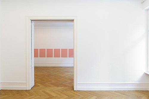 "Mathias Poledna – ""A Village by the Sea"" installation view Galerie Buchholz, Berlin 2012"