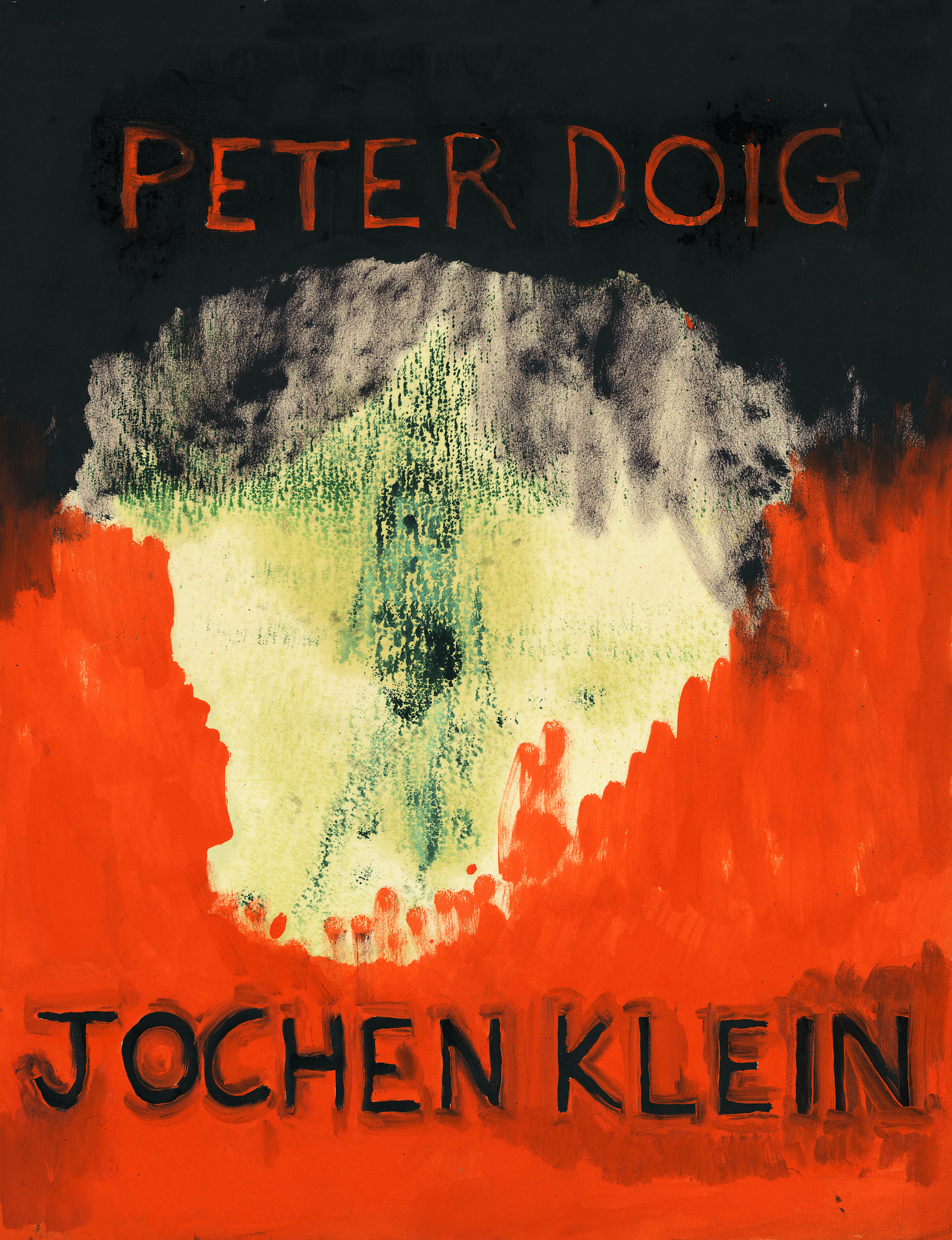 Peter Doig/Jochen Klein – 2006, 56 pages, fully illustrated, Owrps, 24 x 18 cm Edition 800 Euro 24,- – This catalog documents the exhibition of Peter Doig and Jochen Klein at our gallery in December 2004 and the new essay by Manfred Hermes in German and English.