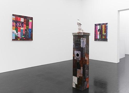 "Richard Hawkins – ""Smoke-Smoke, Salome."" installation view Galerie Buchholz, Köln 2011"