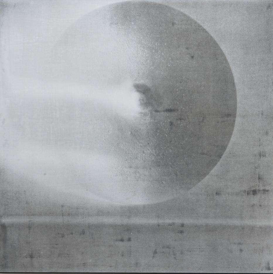 "R.H. Quaytman – ""Cherchez Holopherne, Chapter 21"", 2011 silkscreen ink, gesso on wood 82.2 x 82.2 cm"