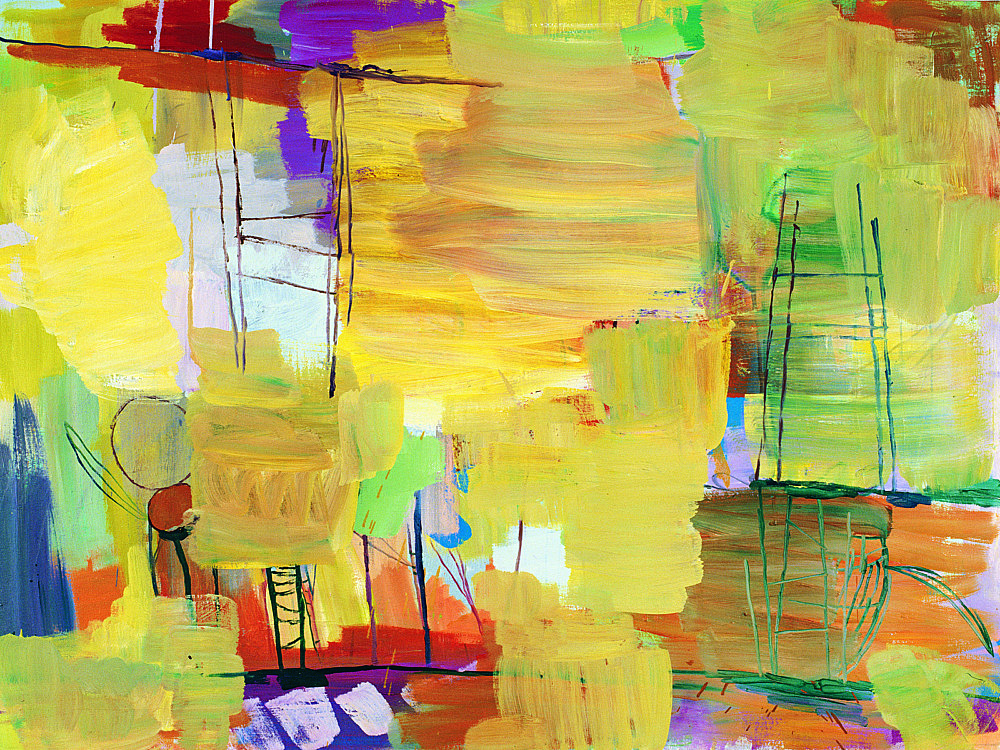 Richard Hawkins – Untitled, 2002 oil on canvas 76.5 x 101.5 cm