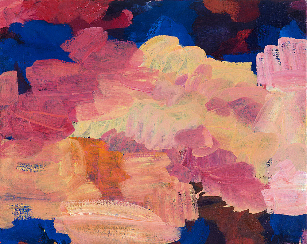 Richard Hawkins – Untitled, 2002 oil on canvas 41 x 50.5 cm