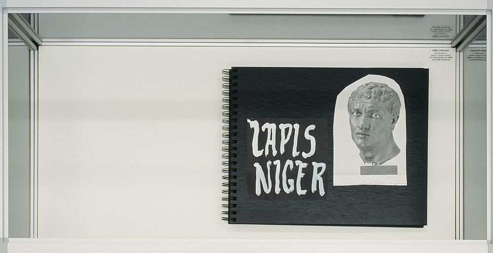 "Richard Hawkins – ""Urbis Paganus I.6"", 2006 collaged artist book, 40 pages 28,5 x 36 cm"