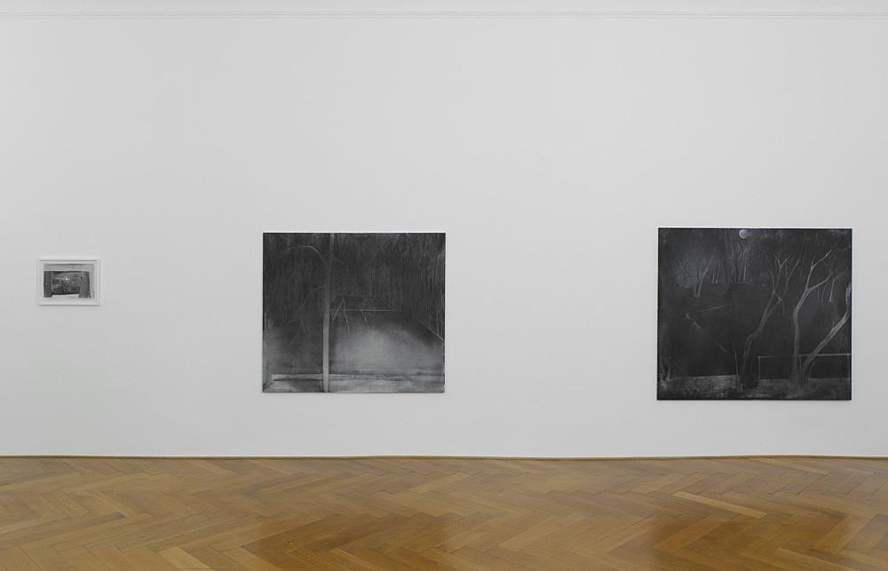 "Silke Otto-Knapp – ""North & South"" installation view Galerie Buchholz, Berlin 2012"