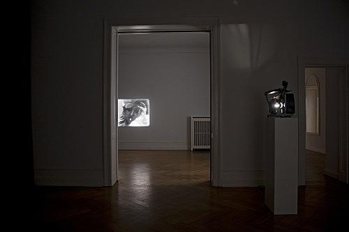 "Tony Conrad – ""Re-Framing Creatures"" installation view Galerie Daniel Buchholz, Berlin 2009"