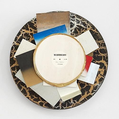 Jack Goldstein – Untitled, ca. 1999 vinyl, wood, metal, lacquer Ø 60 x 17 cm