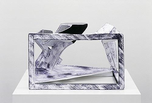 Vincent Fecteau – Untitled, 2006 papier-mâche 39 x 57 x 58 cm