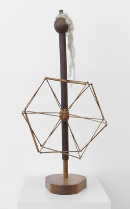 """Max Ernst – """"Objet mobile recommandé aux familles"""", 1936-70 wood, hemp 95 x 40 x 45 cm"""