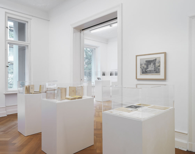 """Raymond Roussel – """"The President of the Republic of Dreams"""" curated by François Piron installation view Galerie Buchholz, Berlin 2013"""