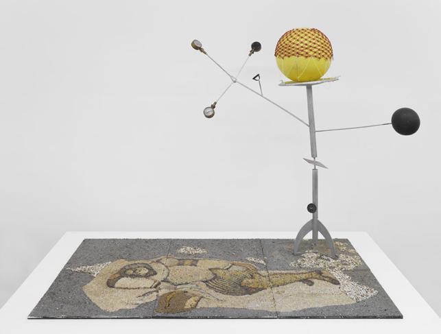 """Jacques Carelman – """"La Hie ou La Demoisselle"""", 1976 mixed media various dimensions"""