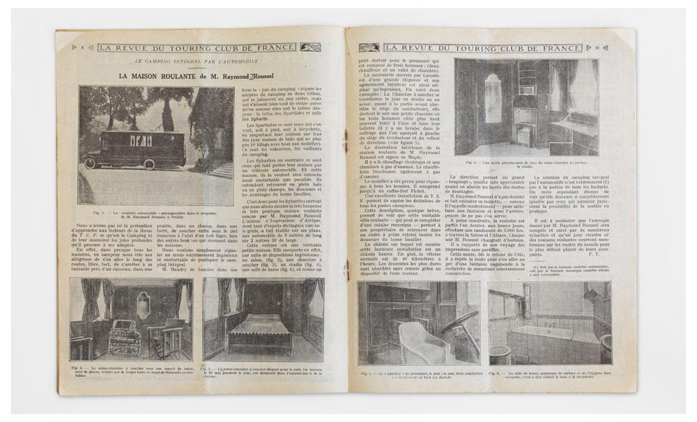 – La Revue du Touring-Club de France No. 381, Juli 1926