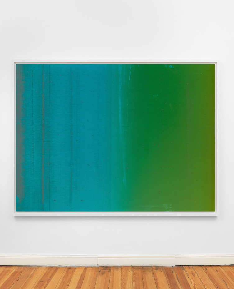 "Wolfgang Tillmans – ""Silver 124"", 2013 c-print mounted on dibond, framed 181 x 236 cm (frame size)"