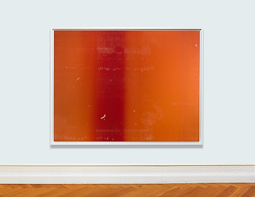 "Wolfgang Tillmans – ""Silver 115"", 2013 c-print mounted on dibond, framed 181 x 236 cm (frame size)"