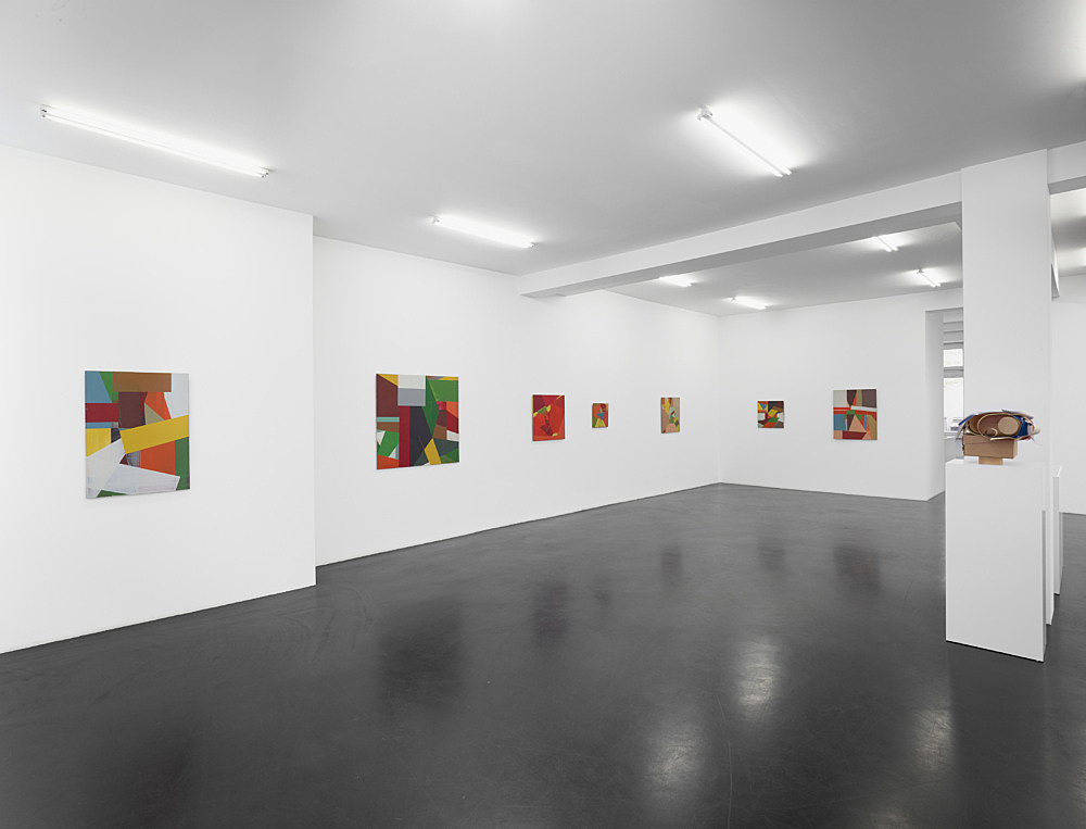 Christophe Verfaille – Exhibition curated by Yve-Alain Bois installation view Galerie Buchholz, Köln 2013