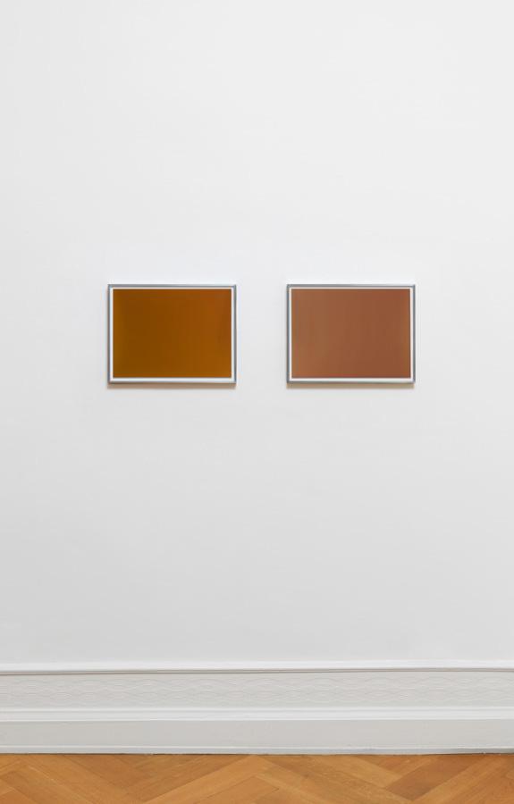 "Wolfgang Tillmans – ""Silver 149"", 2013 emulsion on paper (unique), framed 30,5 x 40,6 cm (print size) ""Silver 161"", 2013 emulsion on paper (unique), framed 30,5 x 40,6 cm (print size) (diptych)"