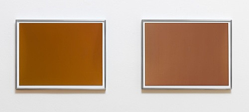 "Wolfgang Tillmans – ""Silver 149"", 2013 emulsion on paper (unique), framed 30,5 x 40,6 cm (print size) ""Silver 161"", 2013 emulsion on paper (unique), framed 30,5 x 40,6 cm (print size) (diptych)"
