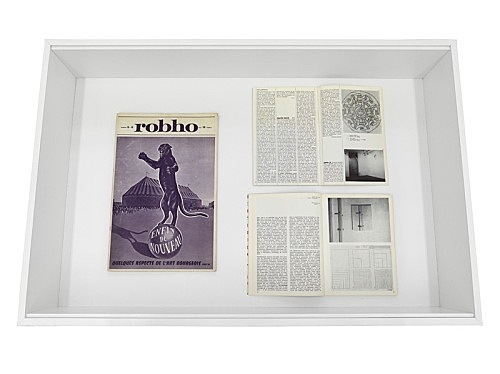 Martin Barré – Vitrine:
