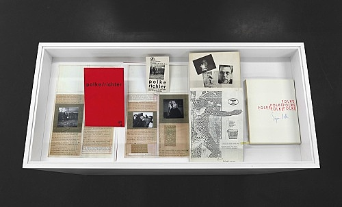 Sigmar Polke – Sämtliche Publikationen installation view Galerie Buchholz, Köln 2014