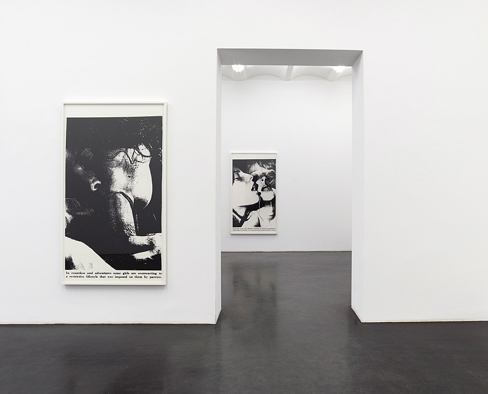 Lutz Bacher – Sex with Strangers, 1986 installation view Galerie Buchholz, Köln 2014