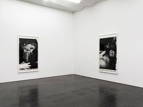 Lutz Bacher – Sex with Strangers, 1986 installation view Galerie Buchholz, Köln 2014