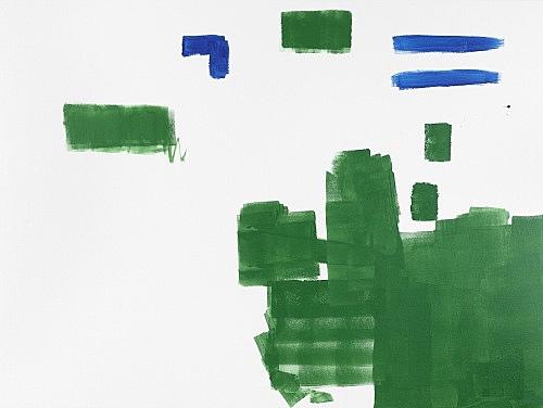 Michael Krebber – MK/M 2014/01, 2014 acrylic on canvas 120 x 160 cm