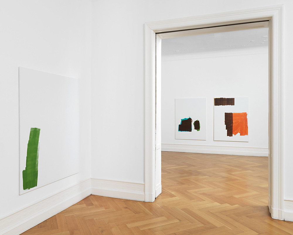 "Michael Krebber – ""Systemic Relevance"" installation view Galerie Buchholz, Berlin 2014"