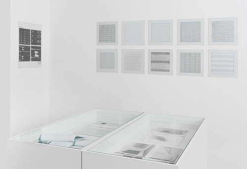 Pictures, Before and After – An Exhibition for Douglas Crimp – installation view Galerie Buchholz, Berlin 2014