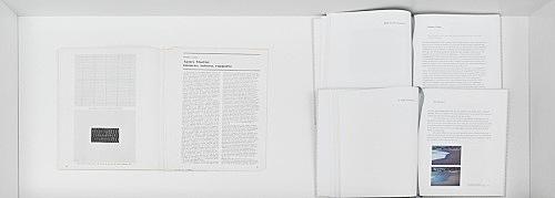 "Agnes Martin – Data, no. 10, 1973 Douglas Crimp ""Agnes Martin: numero, misura, rapport"" (pp. 83–85) exh. cat. New York, Dia Art Foundation; Lynne Cooke, Karen Kelly and Barbara Schröder (ed.), New Haven and London, Yale University Press, 2011 2 texts: Douglas Crimp: ""Back to the Turmoil"" (pp. 58–77) Zoe Leonard: ""A Wild Patience"" (pp. 78–101)"