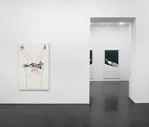 "Frances Stark – ""Clever/Stupid"" installation view Galerie Buchholz, Köln 2014"