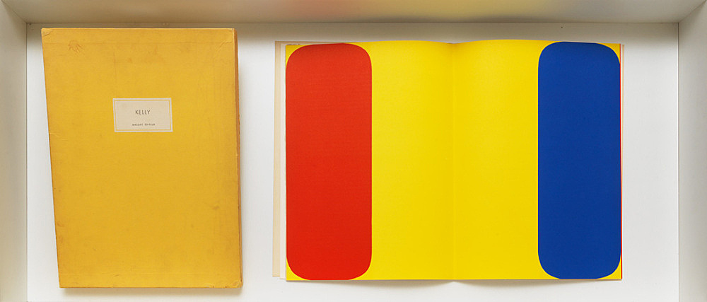 Ellsworth Kelly – Derrière le Miroir Ellsworth Kelly par Dale McConathy Editeur Maeght, Paris 1964 5 original lithographs, cloth bound, 38,5 x 29 cm, unpaginated, signed by Kelly