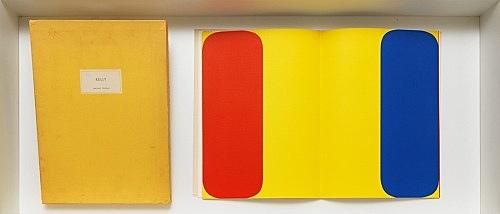 Ellsworth Kelly – Derrière le Miroir Ellsworth Kelly par Dale McConathy Editeur Maeght, Paris 1964 5 original lithographs, cloth bound, 38,5 x 29 cm, unpaginated, signed by Kelly