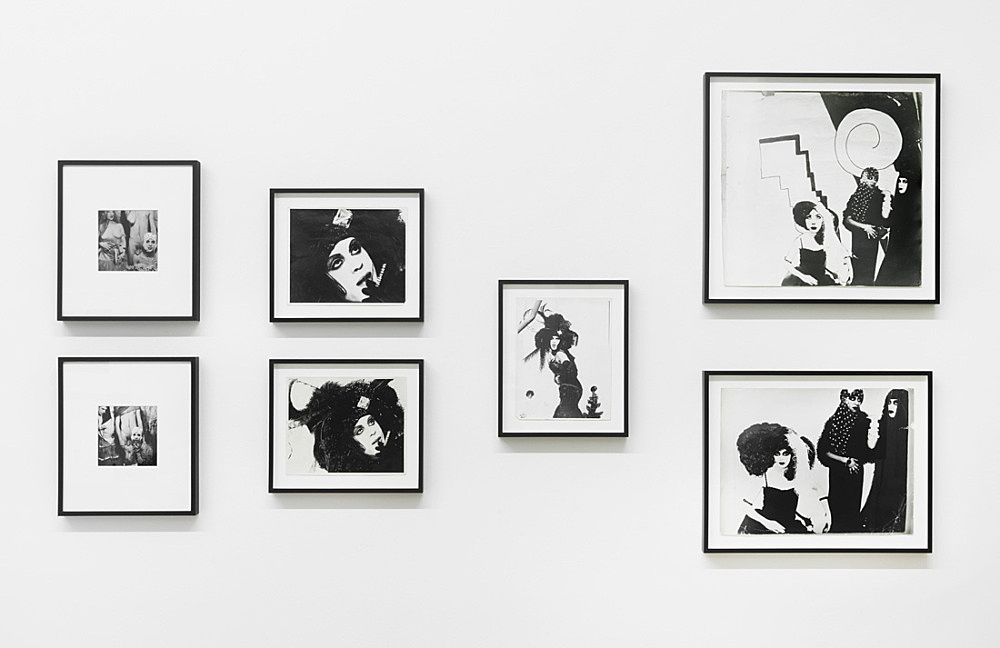 Jack Smith – Untitled, ca. 1958-1969 7 b/w photographs dimensions variable