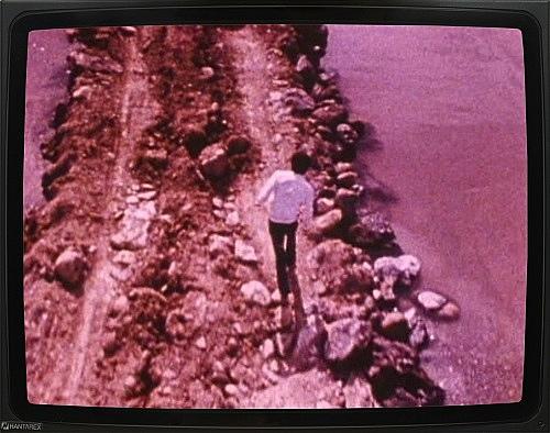 "Robert Smithson – ""Spiral Jetty"", 1970 16mm film, 35 min., color, sound DVD"