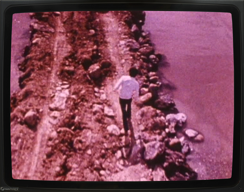 "Robert Smithson – ""Spiral Jetty"", 1970 16mm film, 35 min., color, sound DVD"