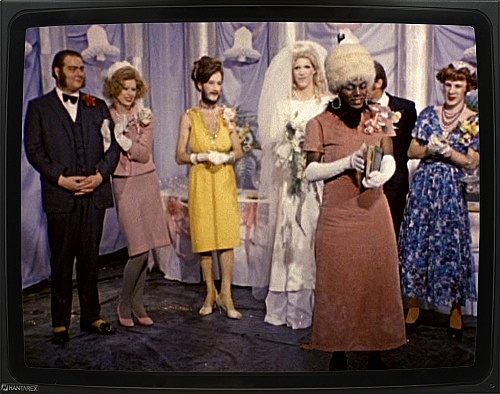 """The Cockettes – """"Tricia's Wedding"""", 1971 16 mm film, 33 min., color, sound DVD"""